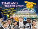 Work and Study Program in Thailand